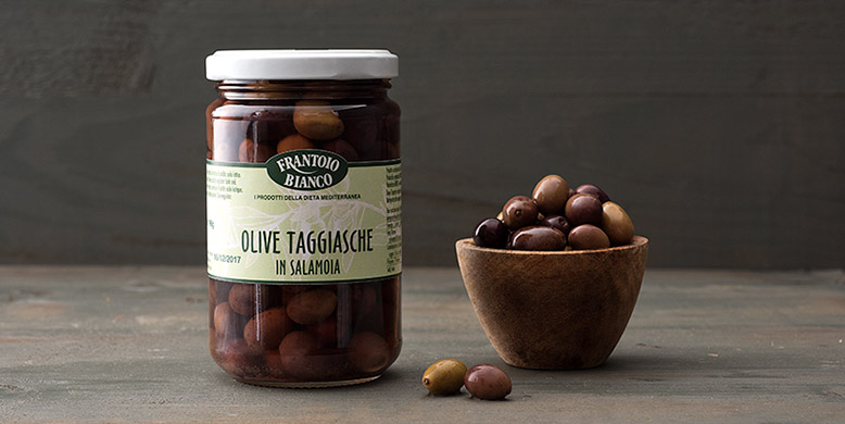 olives taggiasche  en saumure italienne